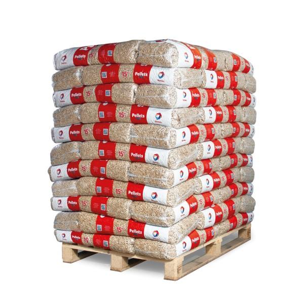 PPT15 Holzpellets Total Premium Palette