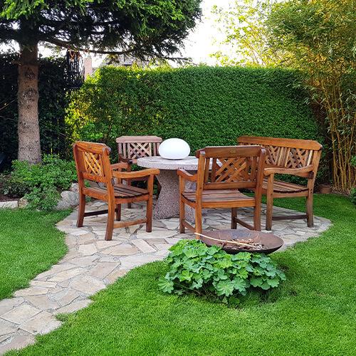 Gartenplanung Sitzgelegenheiten